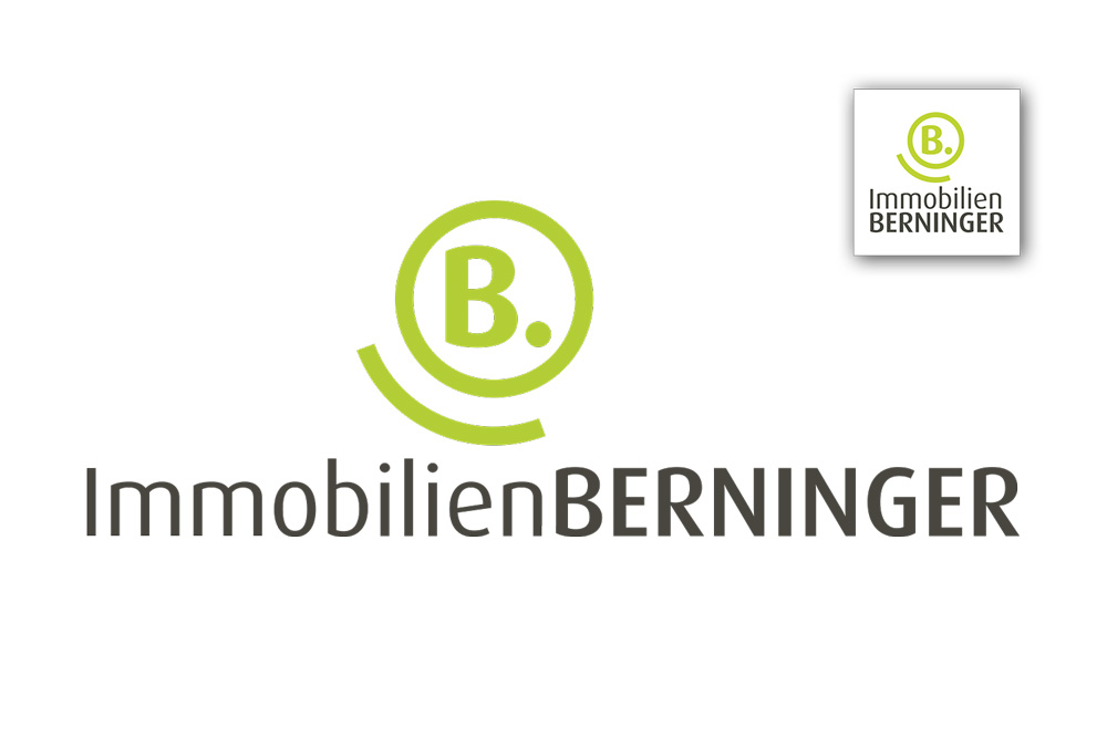 Grafikdesign Logo, Icon Immobilien Berninger Darmstadt
