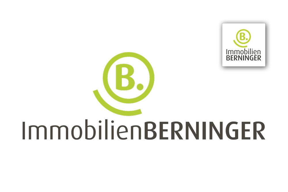 Grafikdesign Logo, Icon Immobilien Berninger Darmstadt