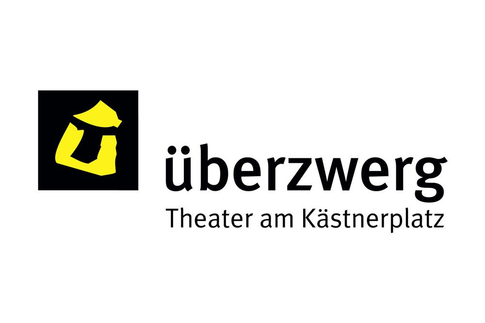 Grafikdesign Logo/Signet überzwerg – theater am Kästnerplatz Saarbrücken