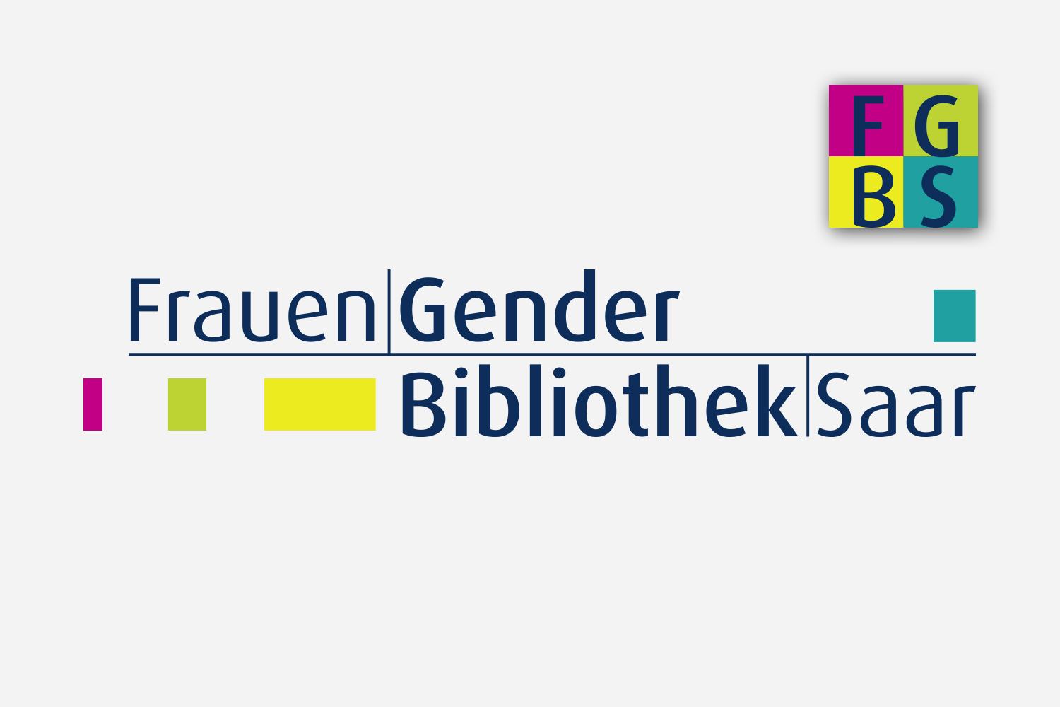 Grafikdesign Signet / Logo, Icon Frauen Gender Bibliothek Saar
