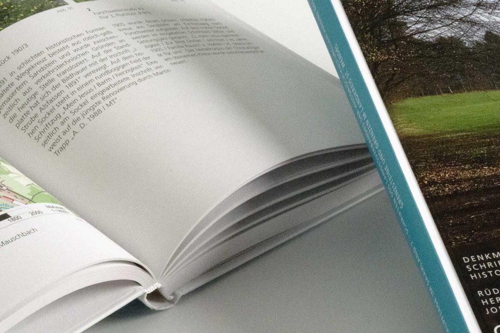 Grafikdesign Publikation Landesdenkmalamt