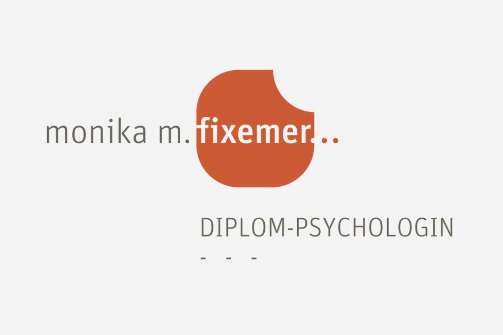 Grafikdesign Logo / Signet Psychologische Unternehmensberatung Monika M. Fixemer Saarbrücken
