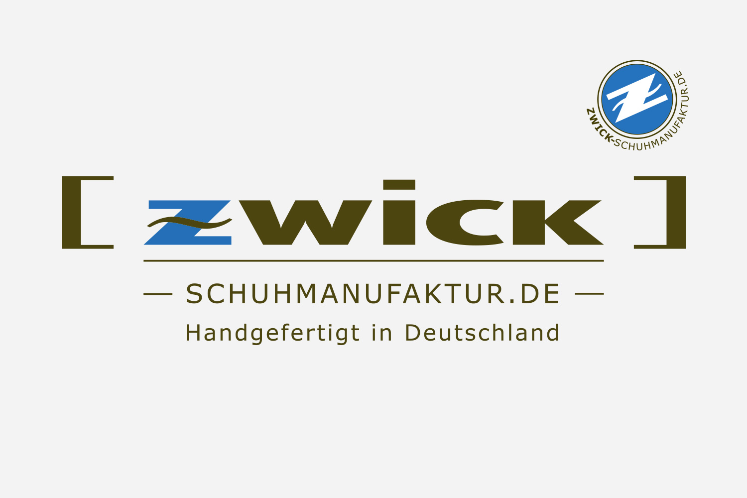 Corporate Design Zwick Schuhmanufaktur: Logo/Signet, Icon