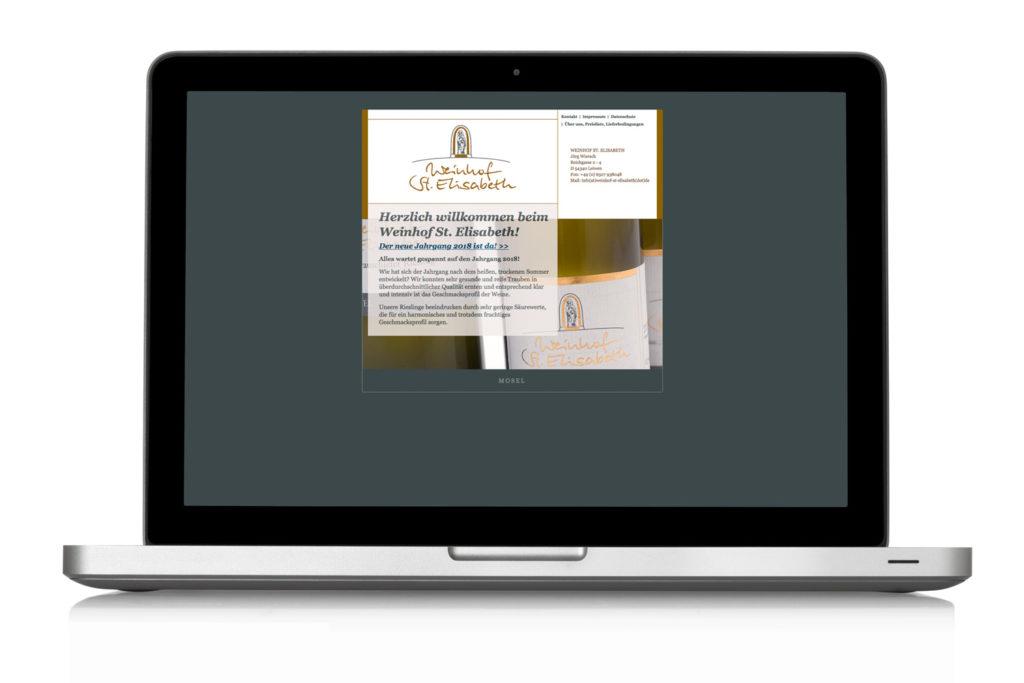 Weingut St. Elisabeth Leiwen Website