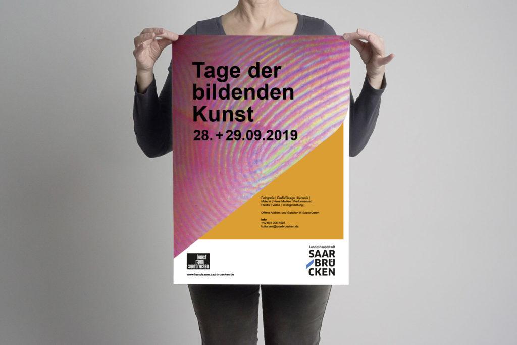 Plakat Tag der Bildenden Kunst Saarbruecken 2019