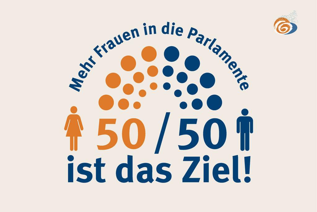 Design Kampagnen »Mehr Frauen in die Parlamente«