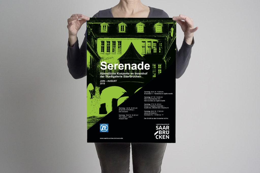 Plakate Konzertreihe Serenade